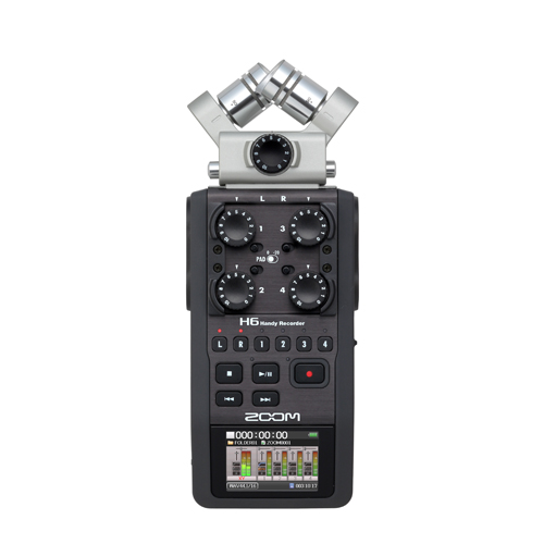 Zoom H6 XY top