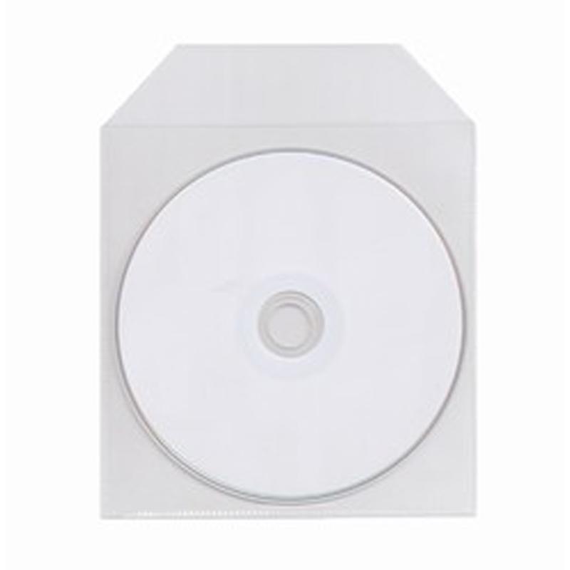 Camerakit CD DVD Plastic Sleeve Single Clear Pack 200 Camerakitie