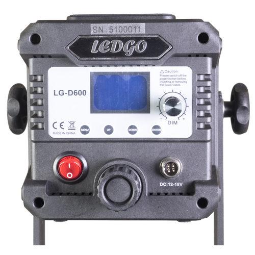 LEDGO LG D600 controls